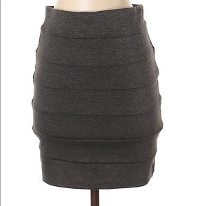 2/$30 Lily Body Central Grey Skirt S